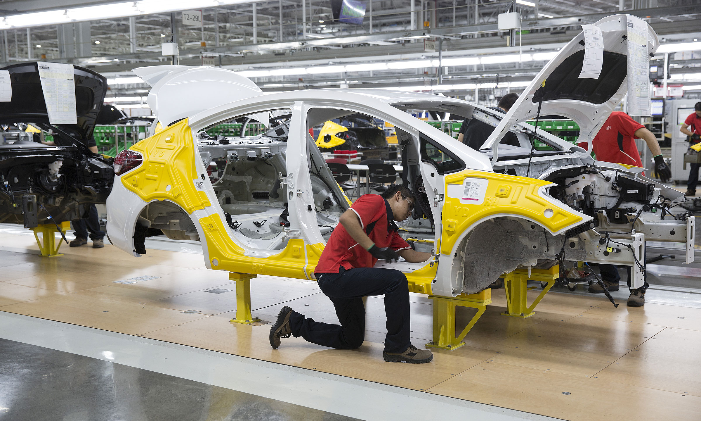 Gravity Auto Sales >> The New Look Of North American Auto Production Efficiency Is Up