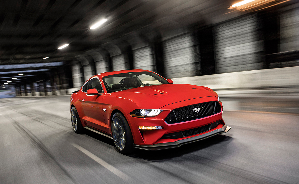 Ford canada to offer more upgrades on freshened mustang in 2019