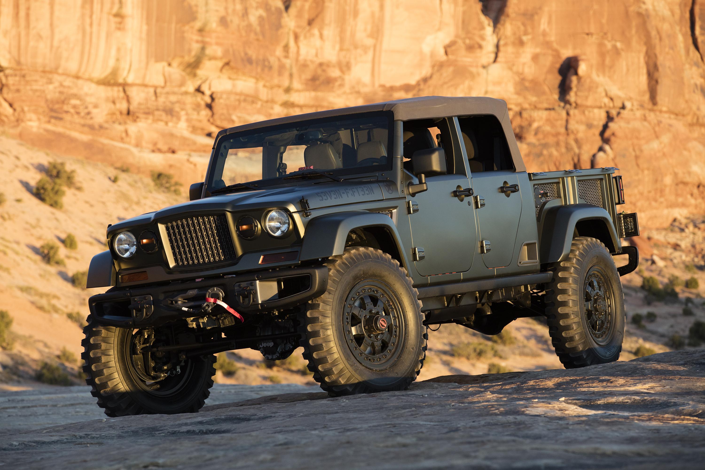 Jeep Plans Optional Soft Top On Scrambler Pickup