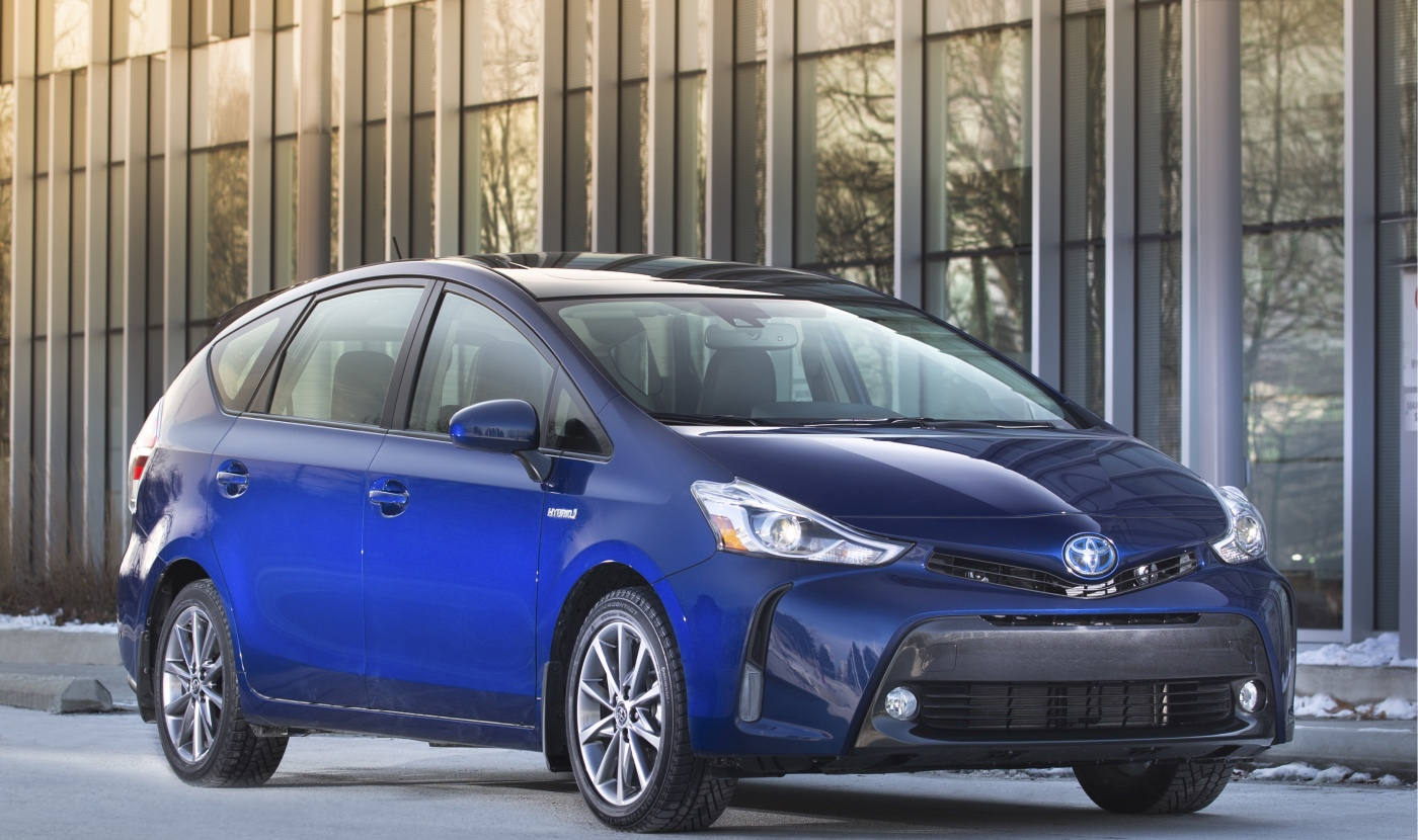 Toyota Canada Ups Safety Features Price Of 2018 Prius V