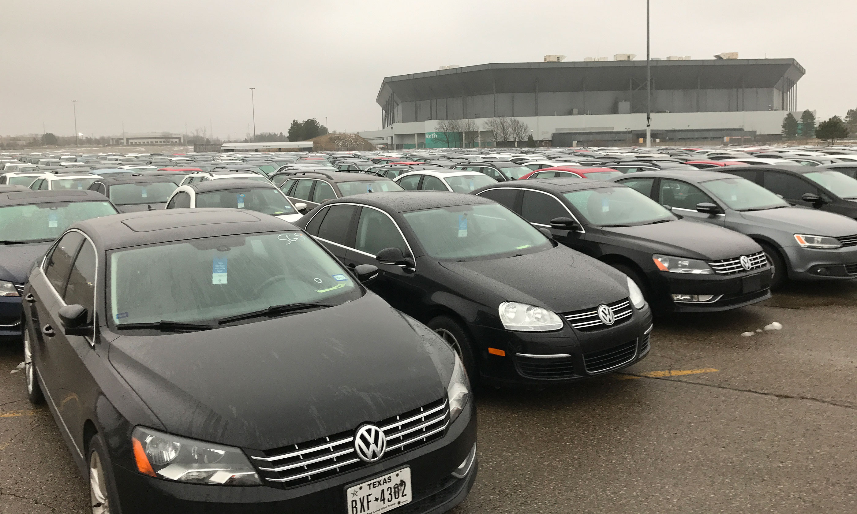 Canadian Owned Business In Court For Storing Vw Diesels At Old Nfl Stadium Automotive News Canada