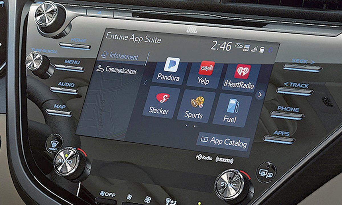 Toyota opts for its own Entune over Apple CarPlay, Android Auto for