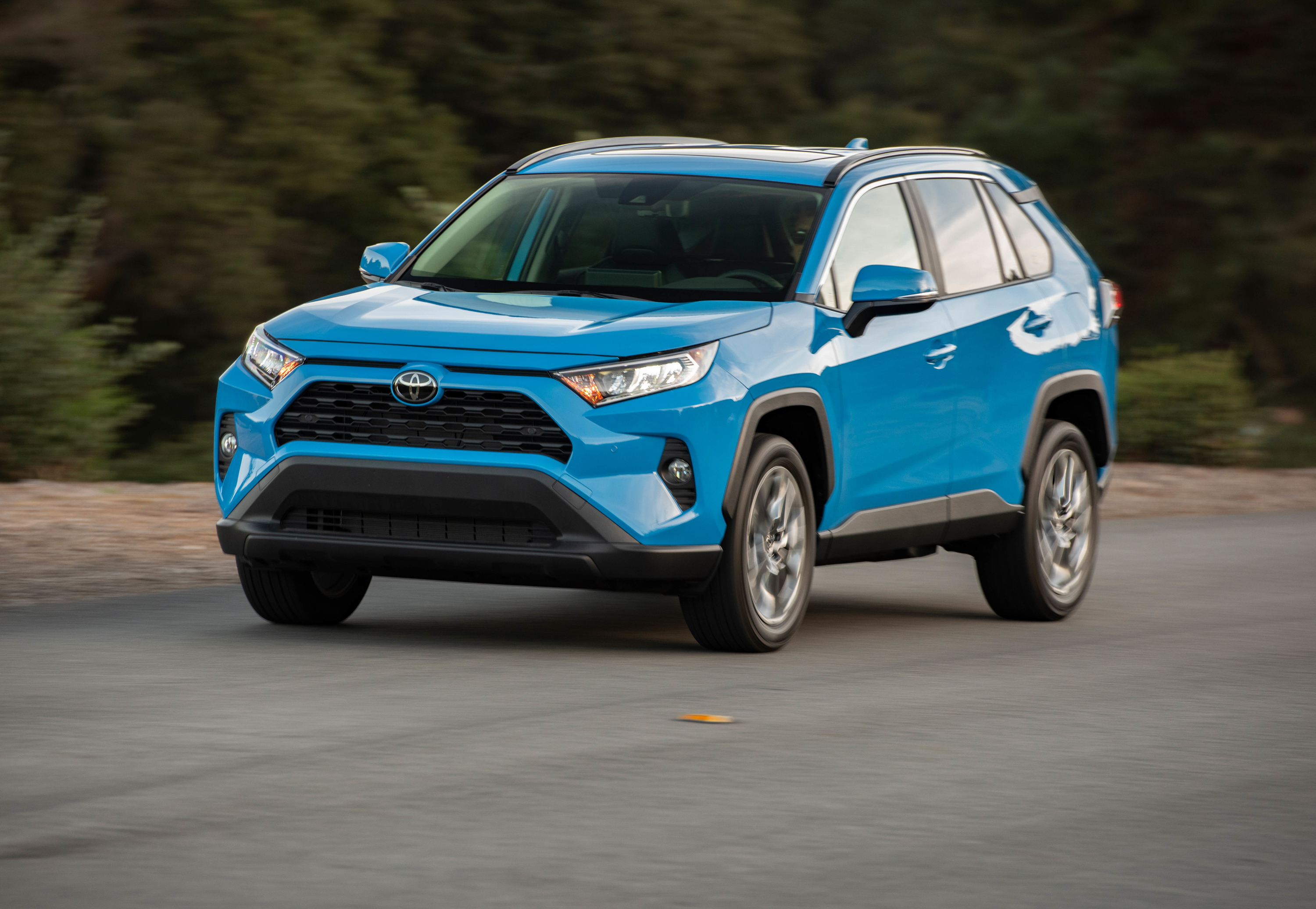 Toyota S 2019 Rav4 Gets More Trims Power
