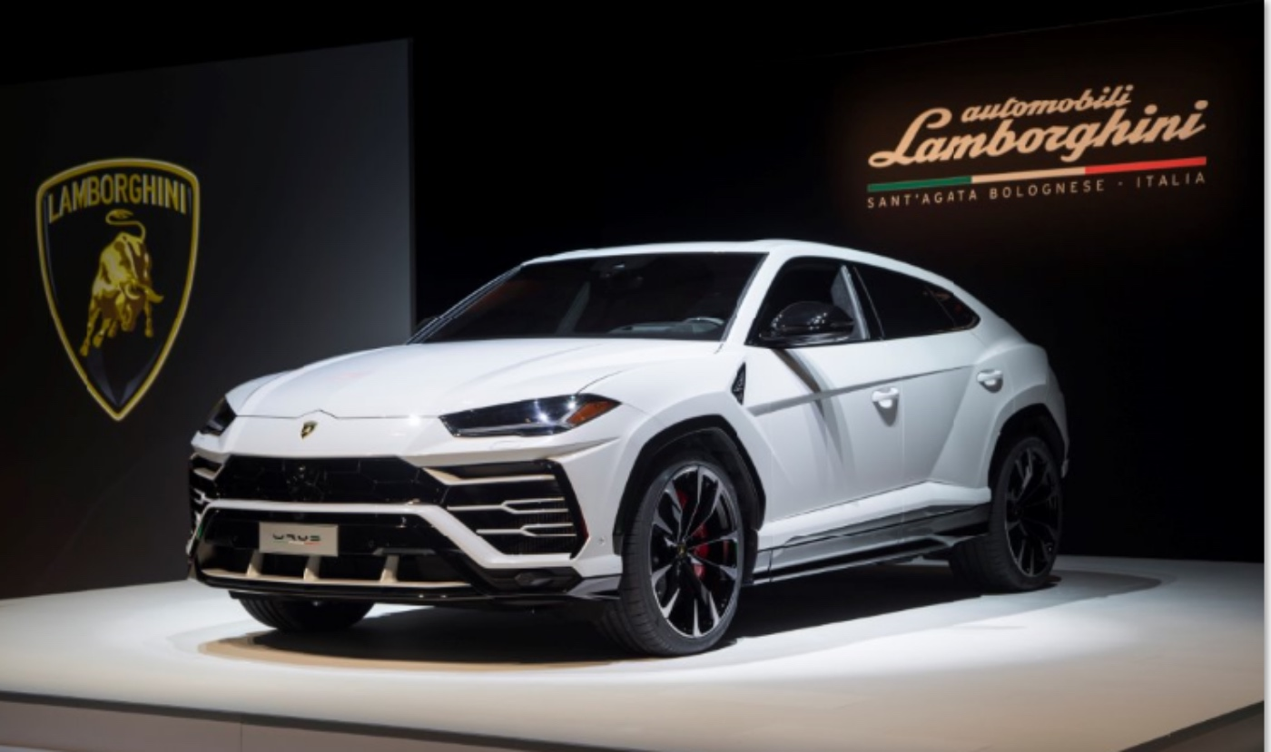 lamborghini banks on urus, new store in toronto business district