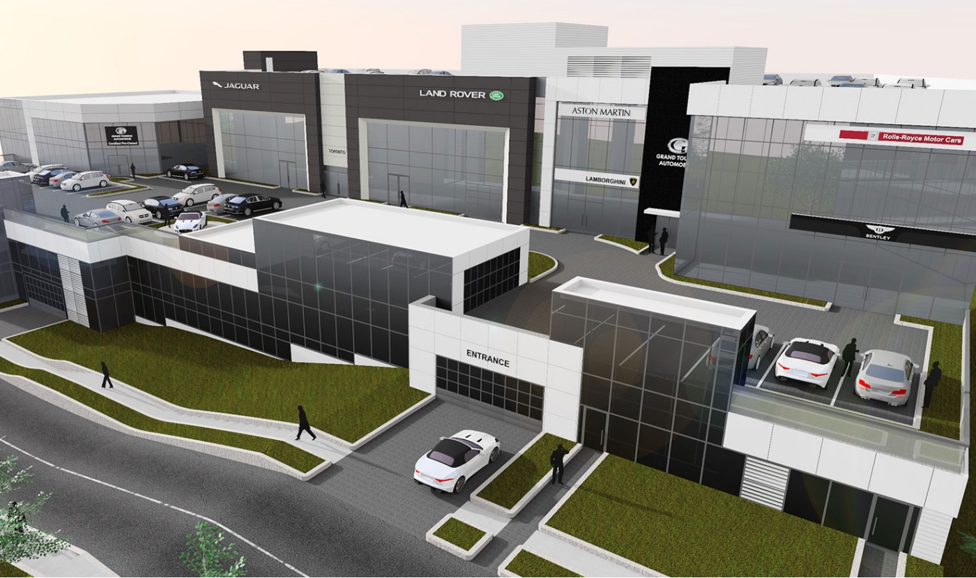 Car Dealers Toronto >> New Five Storey Toronto Dealership Houses Seven Luxury Brands