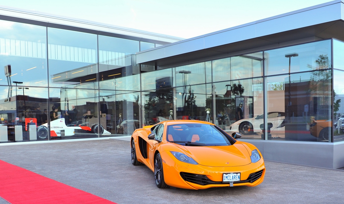 Toronto Car Sales >> Mclaren Toronto Earns Global Honours With Record Sales
