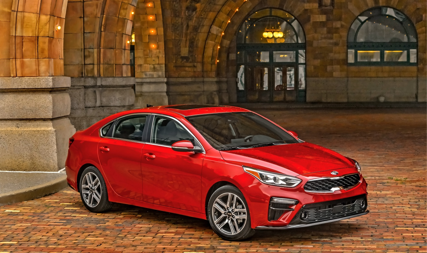 Redesigned Kia Forte EX is the automaker's sales focus in Canada