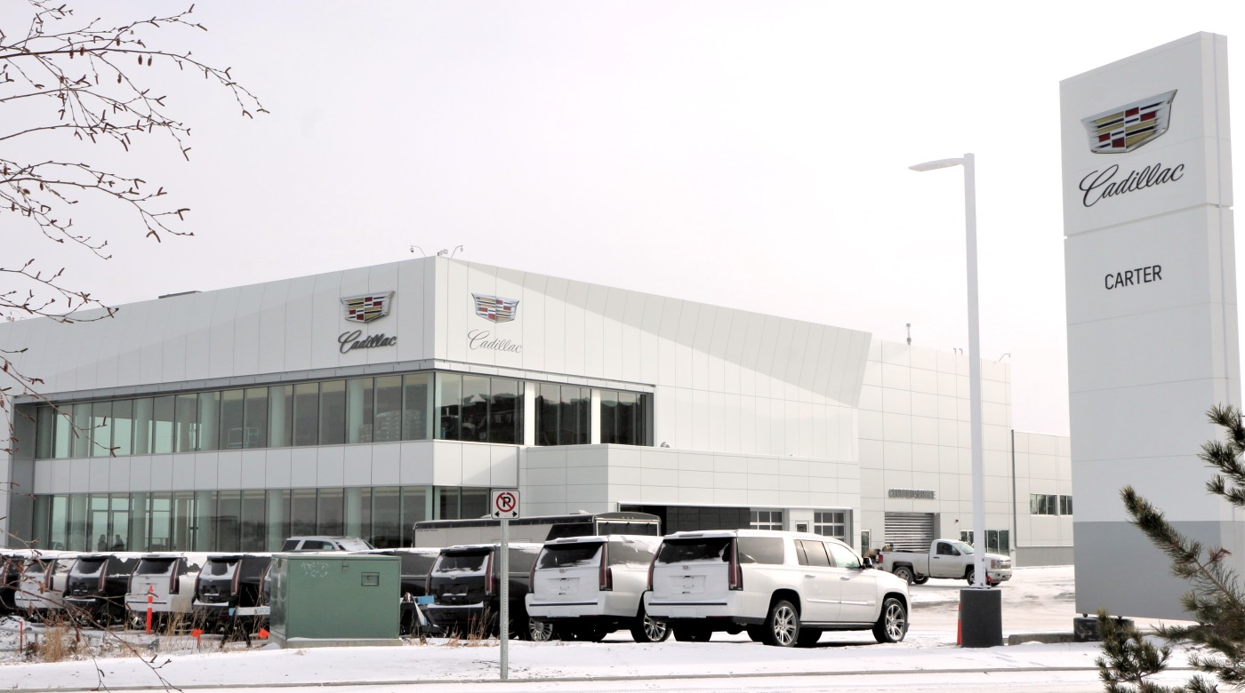 Cadillac S First And Largest Exclusive Dealership In N A Opens In