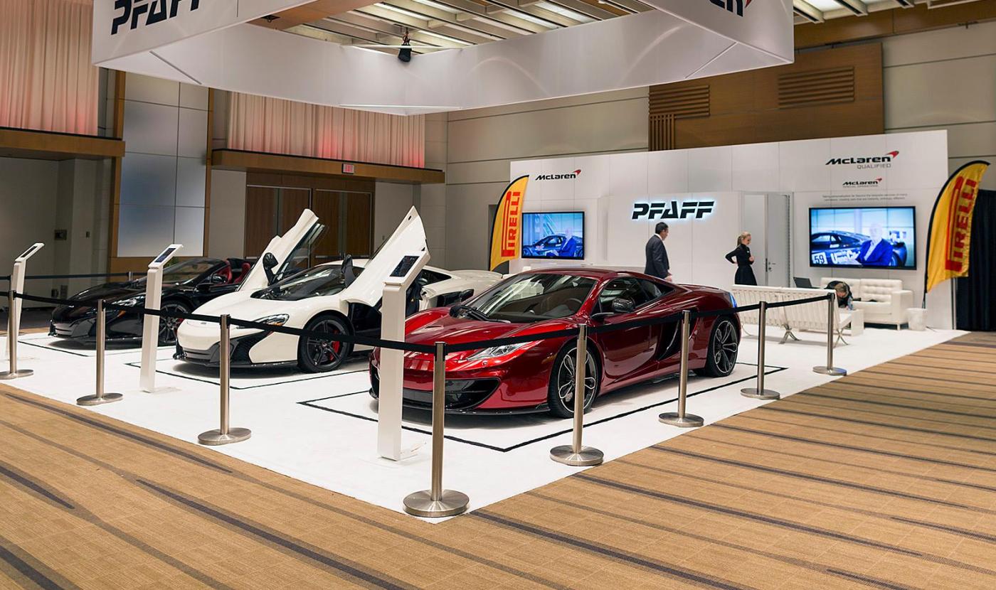 Pfaff McLaren Display