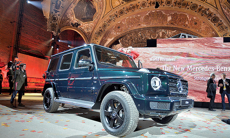 Mercedes-Benz G-class sales should increase with redesigned