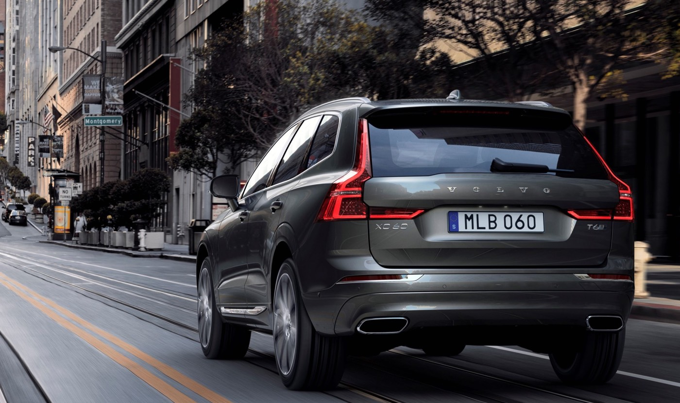 Volvo XC60 crossovers recalled to fix trunk lids