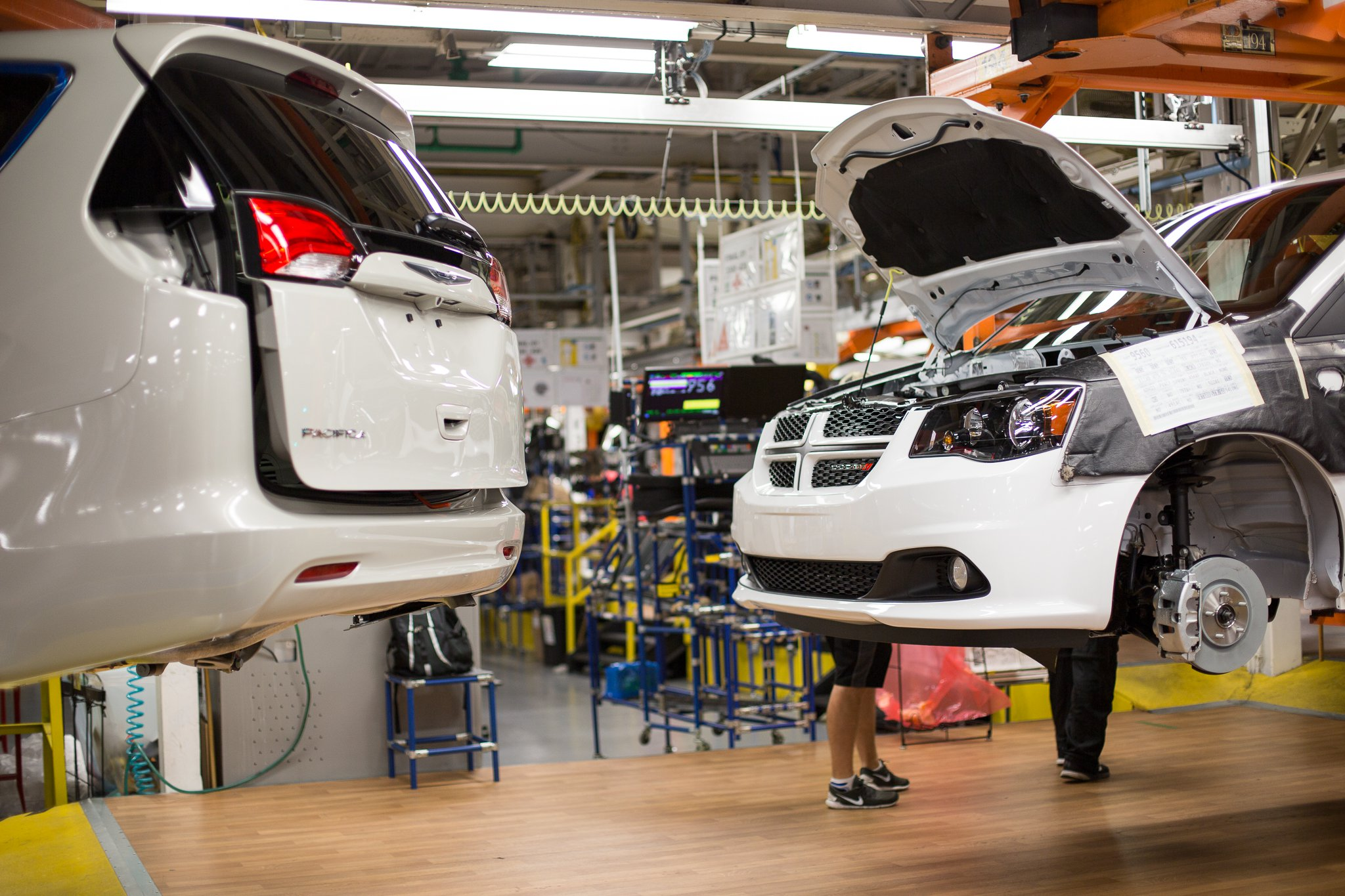 Five-week retool for awd Pacifica expected at FCA Windsor plant