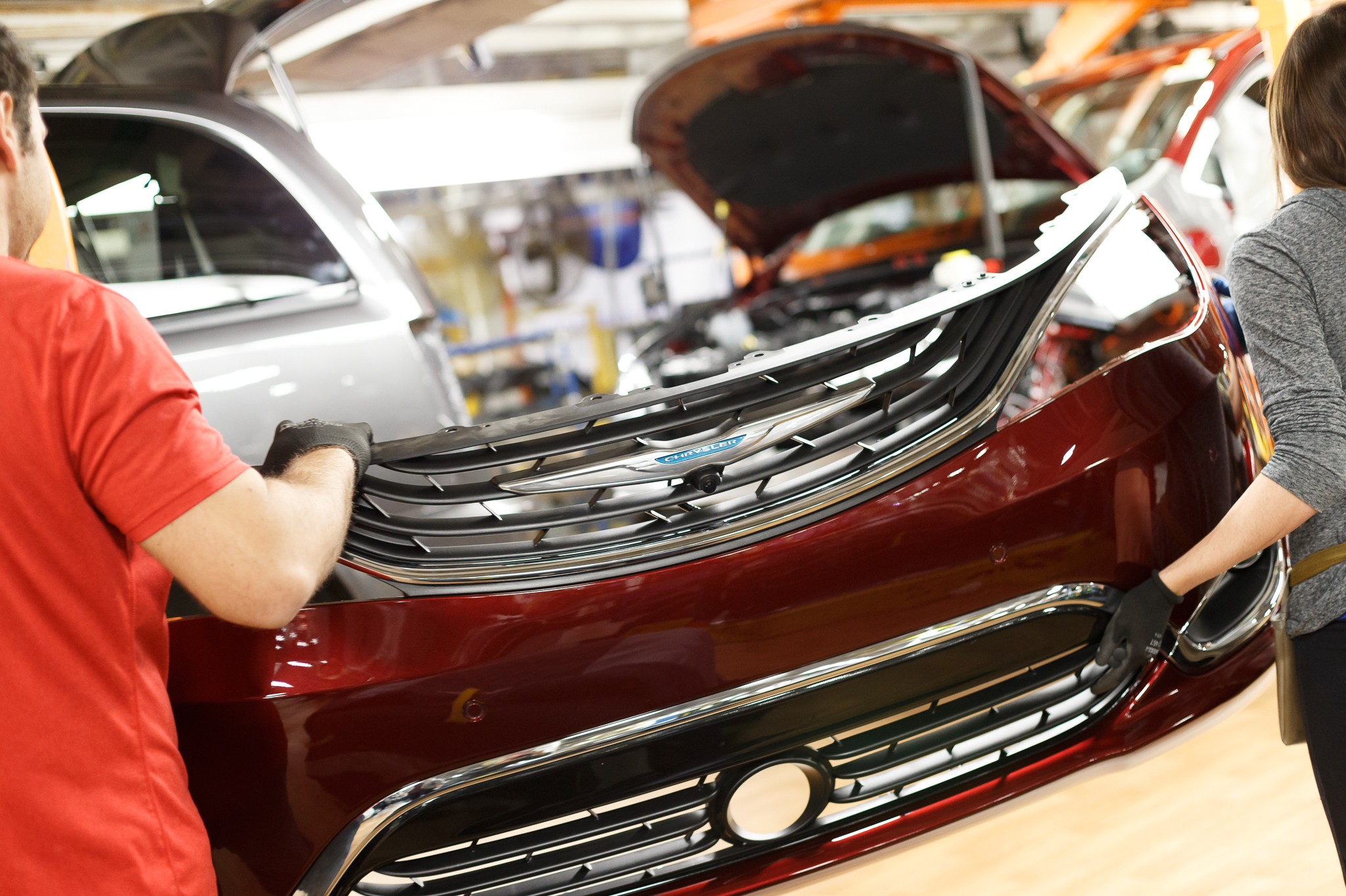 Canada Gaining Auto Jobs Even In Its Factories