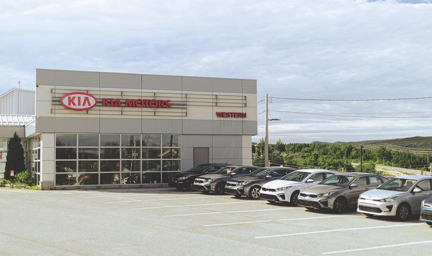 Wester Kia Dealership exterior