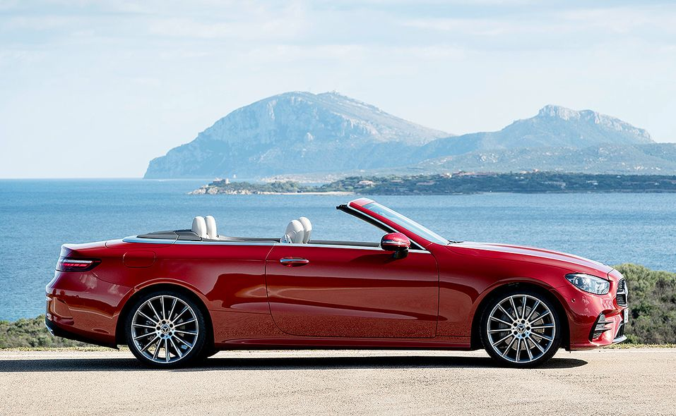 2021 Mercedes-Benz E-class convertible photo gallery