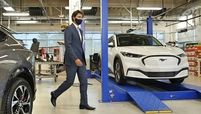 Trudeau at Ford Oakville