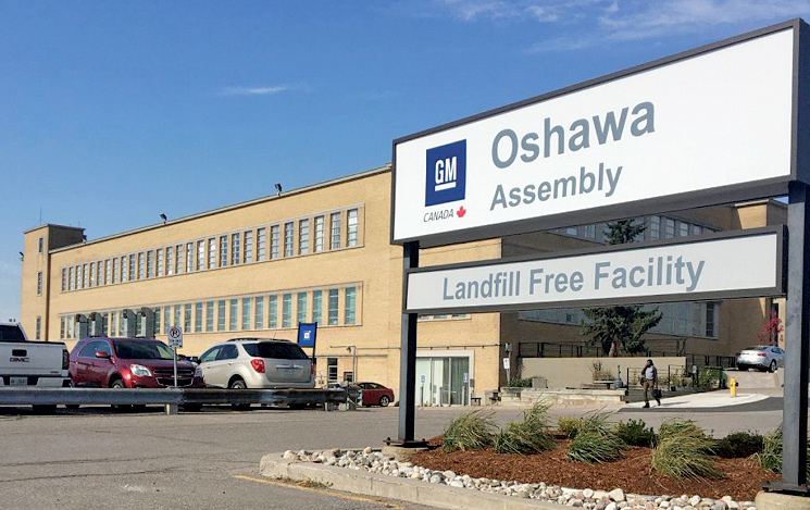 GM investment means vehicle production could one day return to Oshawa