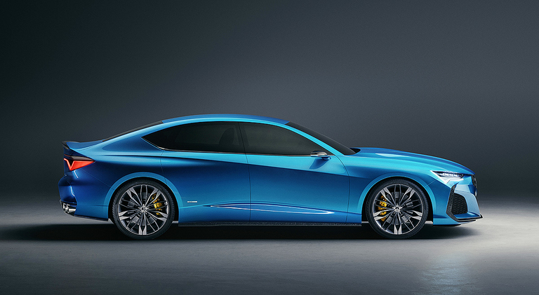 Acura Type S concept previews next TLX