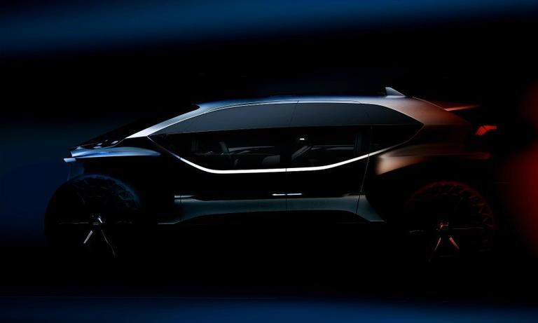 Audi teases 'radical' EV off-roader concept