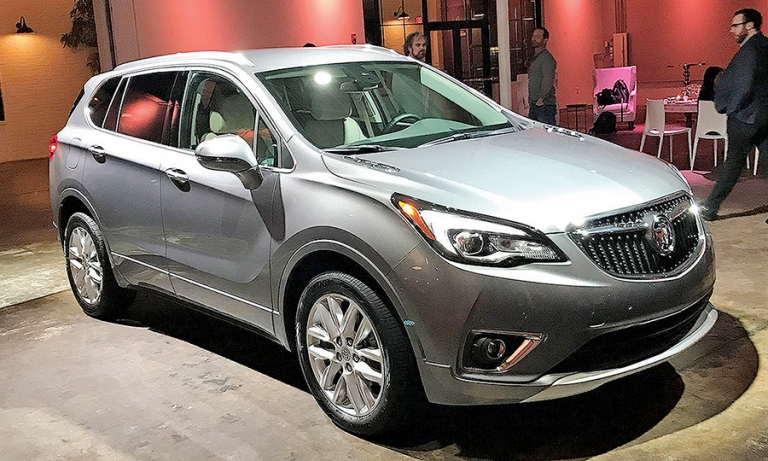 Buick Envision gets refresh, price cut