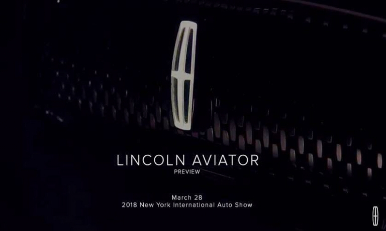Lincoln Aviator crossover to debut at New York auto show