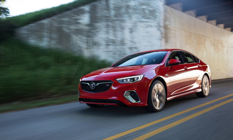 Canada gets two of three redesigned Buick Regal models