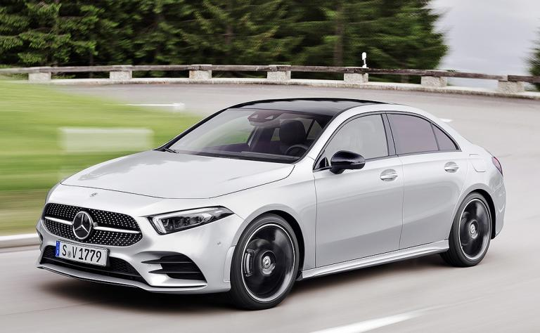 MB expects A-class sales to be split 50/50 between hatchback, sedan