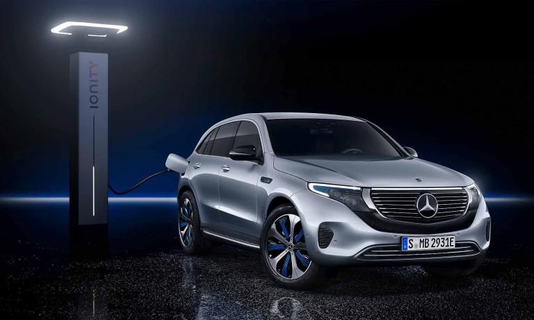 Mercedes launches first EV volley with EQC