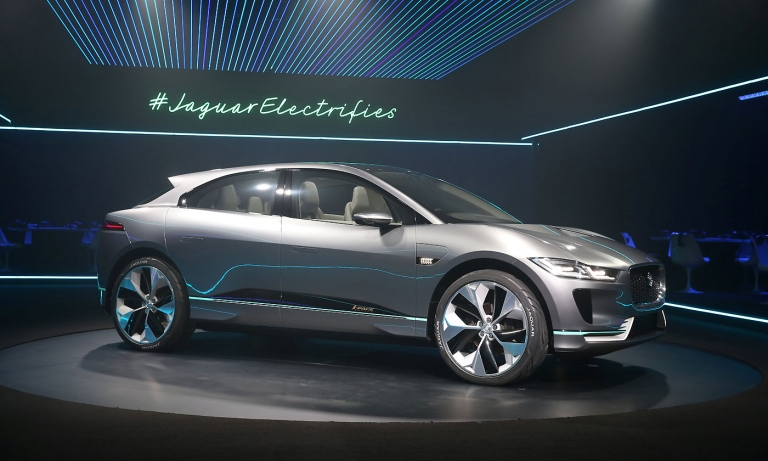 Jaguar joins EV race with I-Pace crossover