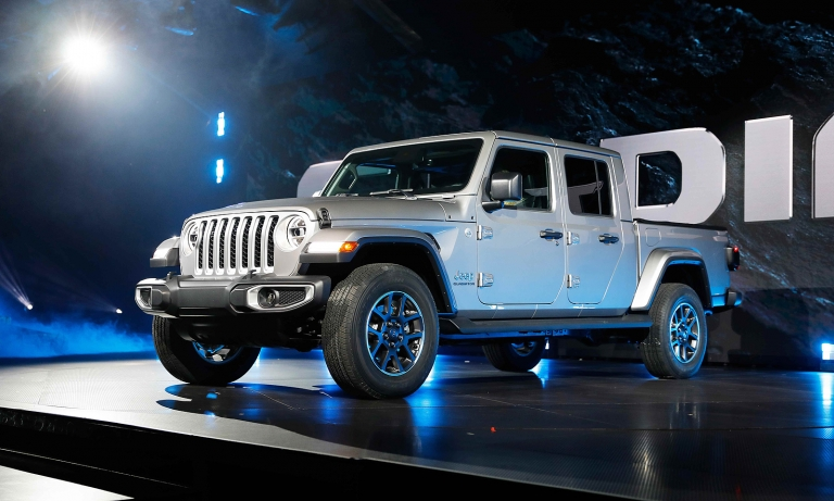 Gladiator fulfills Jeep's long-delayed dreams of a pickup