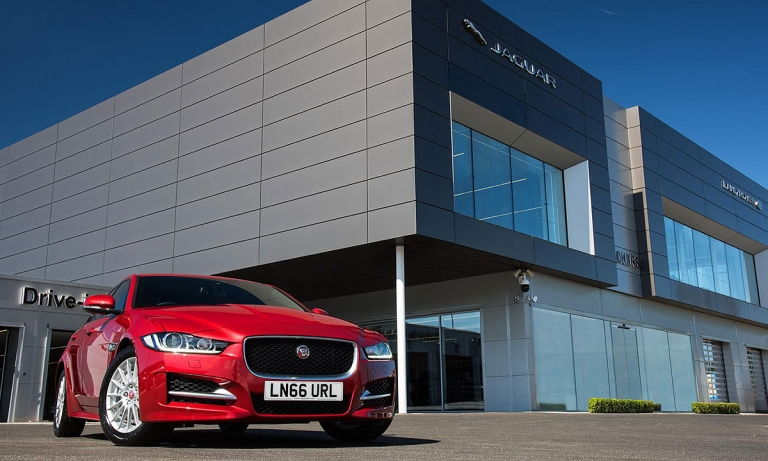 Jaguar Land Rover will add seven new stores across Canada