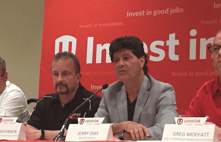 It won't be 'business as usual for quite a while,' Unifor says of auto industry