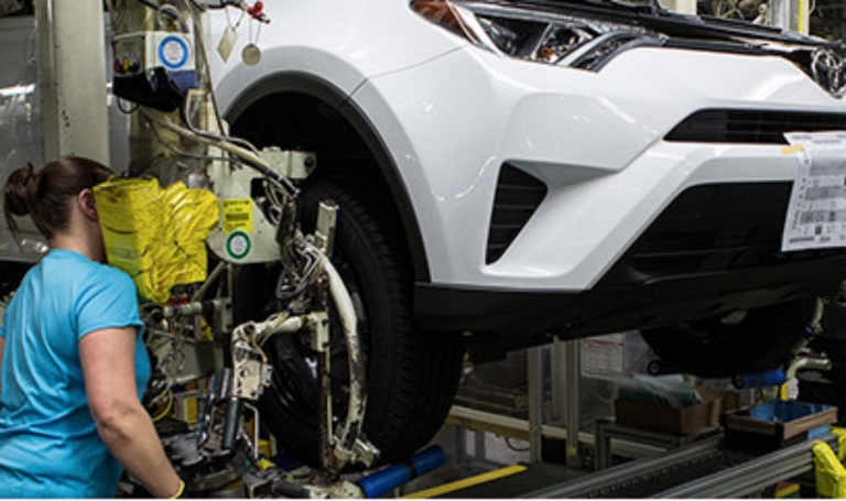 Toyota joins other automakers in suspending production