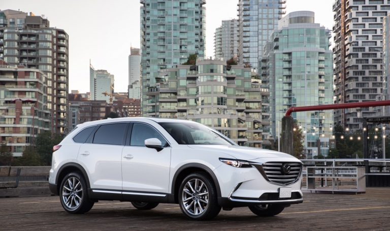 Mazda CX-9 sales surge as its closest competition slides
