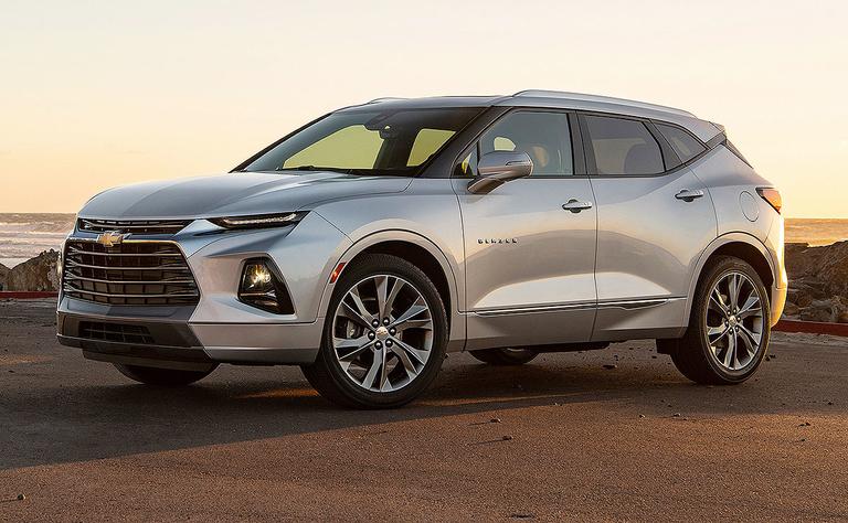 Chevy's 2019 Blazer: More Camaro, less Equinox