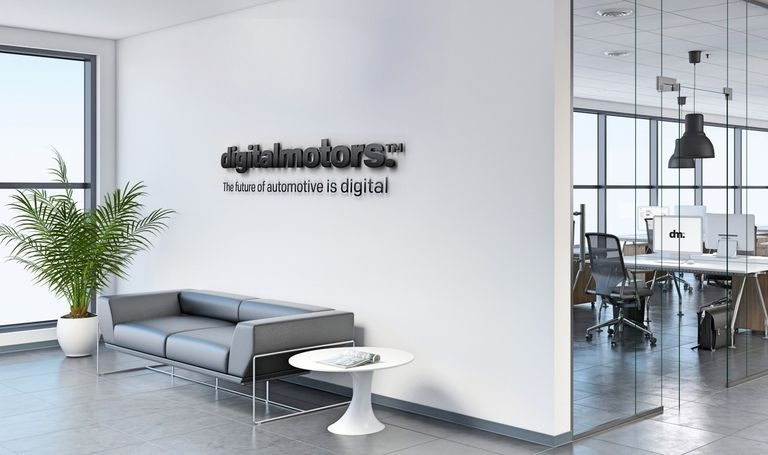 Digital Motors Office Interior