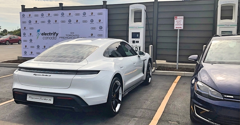 VW's Electrify Canada opens 1st EV charging station in drive for national network