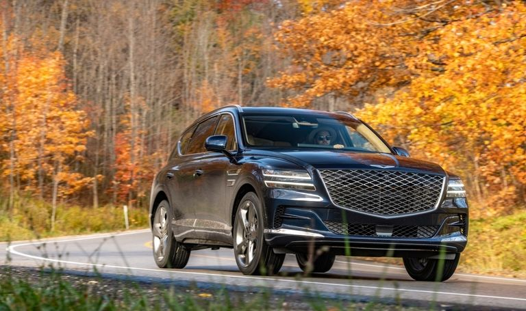 Canadian Genesis GV80 offers Terrain Modes not available in U.S. due to patent