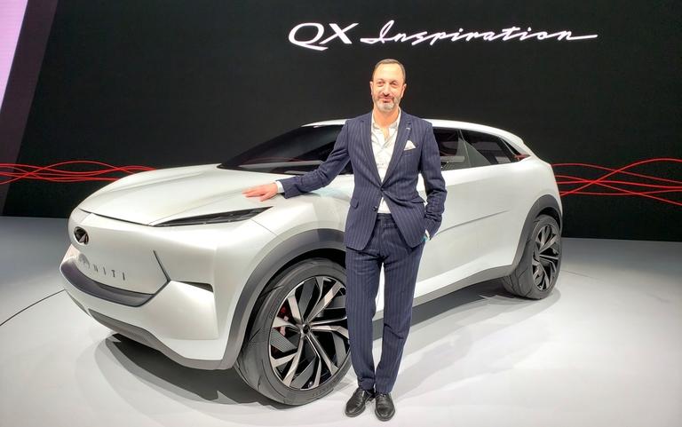 Canadian Karim Habib gives Infiniti its QX Inspiration
