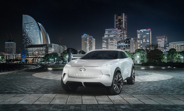 Infiniti plans to debut EV crossover concept at Detroit show