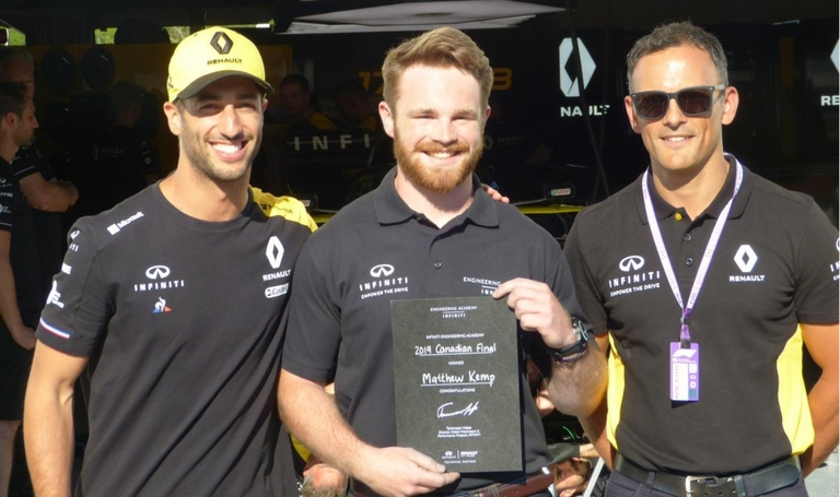 Infiniti builds engineering talent pool with the lure of racing