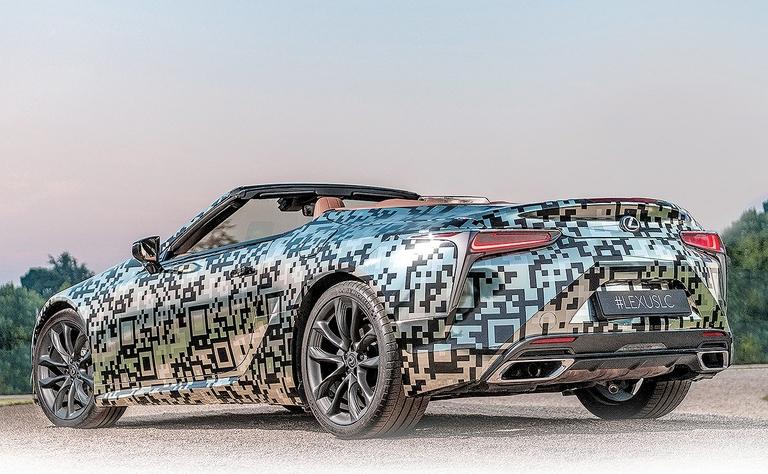 Lexus confirms LC convertible