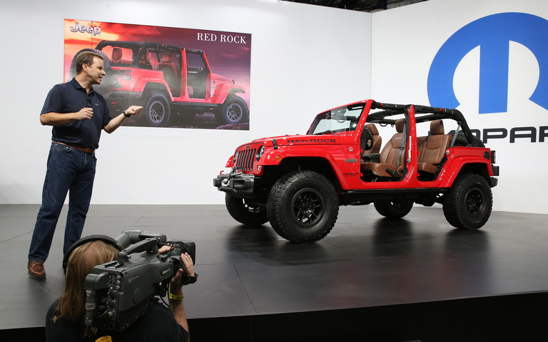 Canadian Jim Morrison is the new Jeep gladiator looking to jumpstart sales