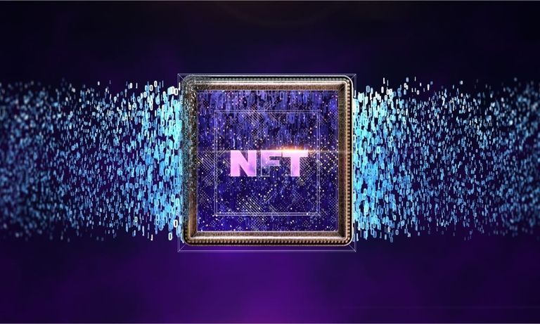 NFT Illustration by Bloomberg