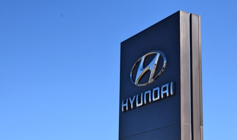 New Hyundai Dealership Sign