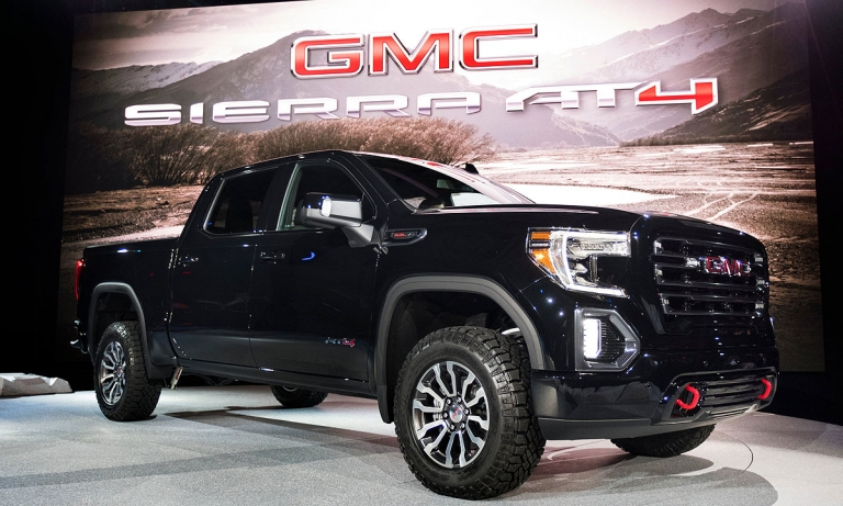 GMC launches off-road AT4 brand with Sierra
