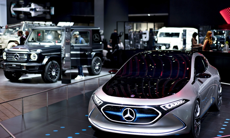 Mercedes set to pull out of '19 Detroit auto show