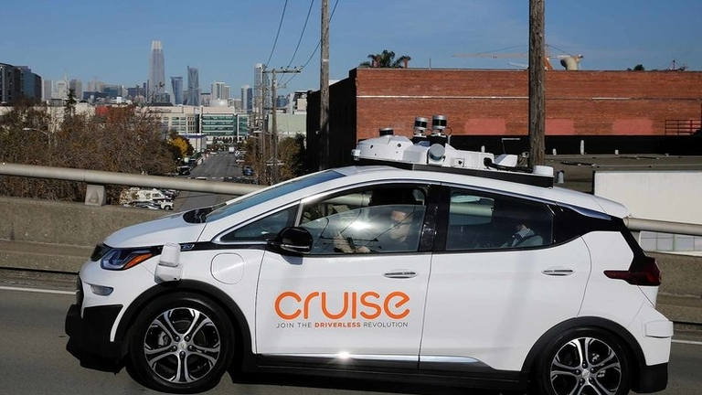 GM's Cruise to unveil first car built to operate with no driver