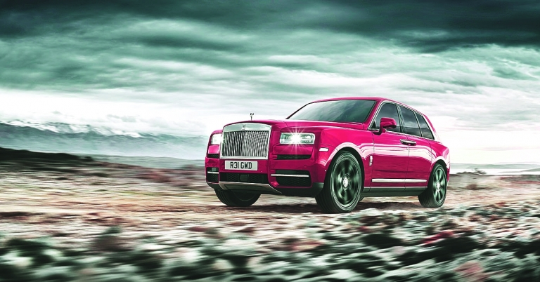 Rolls-Royce touts Cullinan as a game changer