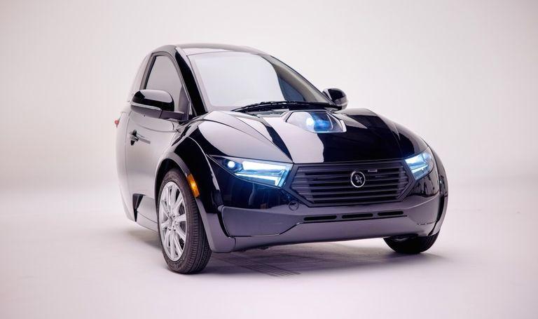 The ElectraMeccanica Solo single-seat car